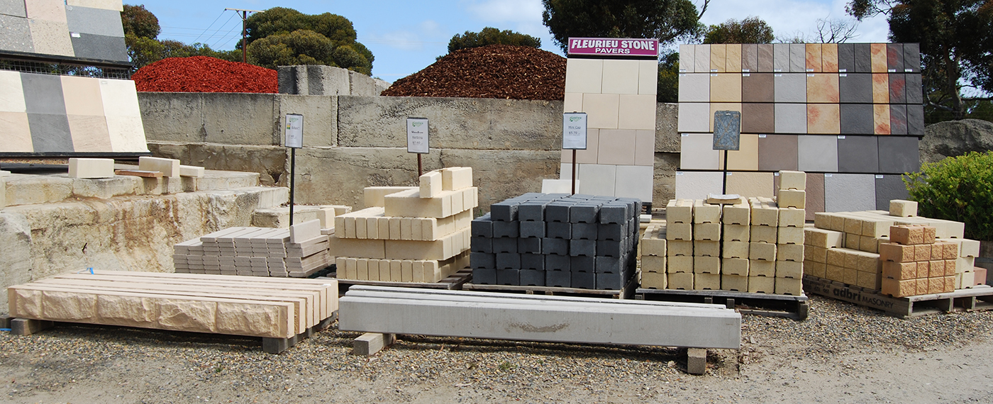 Pavers & retaining wall components